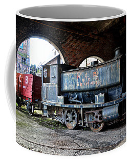 A Locomotive At The Colliery Coffee Mug