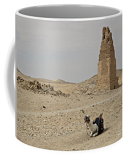 A Lonely Camel Coffee Mug by Cendrine Marrouat