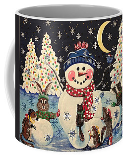 A Magical Night In The Snow Coffee Mug