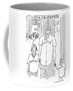 A Man And His Two Sons Coffee Mug