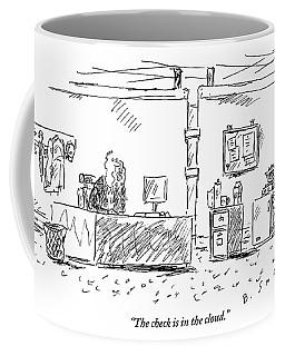 A Man In An Office Coffee Mug