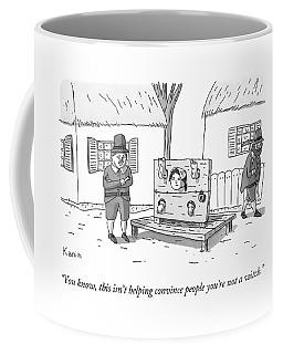 A Man In Salem Massachusetts Says To A Woman Coffee Mug