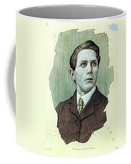Coffee Mug featuring the painting A Man Who Used To Be A Dreamer by James W Johnson