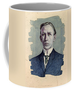 Coffee Mug featuring the painting A Man Who Used To Be Somebody To Someone by James W Johnson