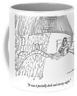 A Married Couple In Bed Coffee Mug