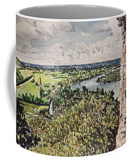 Coffee Mug featuring the painting A Memory Of France by Betty-Anne McDonald