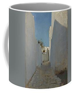 A Moroccan Street Scene, 1879-1880 Coffee Mug