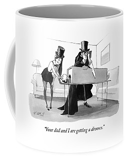 A Mother In A Magician's Assistant Costume Coffee Mug
