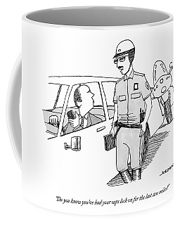 You've Had Your Caps Lock On For The Last Ten Miles Coffee Mug