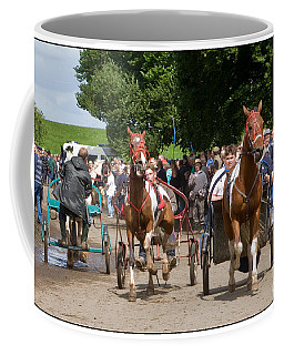 A Near Miss Coffee Mug