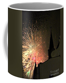 St. Louis Cathedral A New Day A New Year In New Orleans Louisiana 2014 Coffee Mug by Michael Hoard