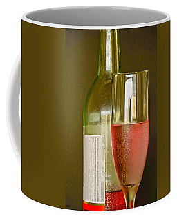 A Nice Glass Of Wine Coffee Mug by Charles Beeler