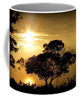 A November Sunset Coffee Mug