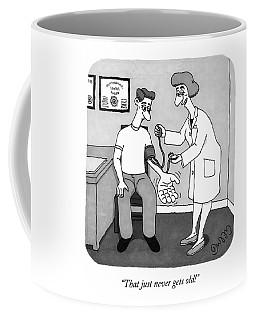 A Nurse Takes A Patient's Blood Pressure Coffee Mug