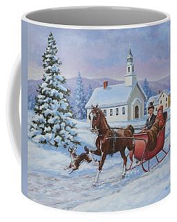 A One Horse Open Sleigh Coffee Mug