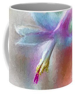 A Painted Christmas Cactus  Coffee Mug