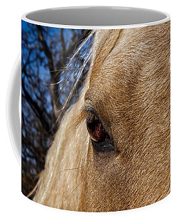 A Palomino's Eye. Coffee Mug