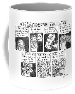 A Panel Called Creation: The True Story Which Coffee Mug
