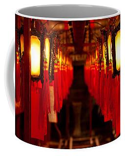 A Path Of Light And Prayers Coffee Mug