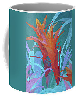 A Pattern Of Bromeliads Coffee Mug