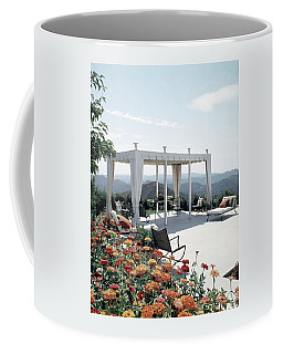 A Pavilion In The Backyard Of Bruce Macintosh's Coffee Mug
