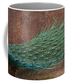 A Peacock Coffee Mug by Ernie Echols