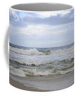 A Peek Of Blue Coffee Mug