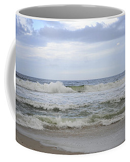 A Peek Of Blue Coffee Mug