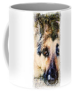A Penetrating Gaze Coffee Mug