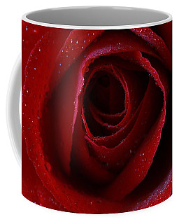Coffee Mug featuring the photograph A Perfect Rose by Keith Hawley
