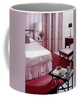 A Pink Bedroom Coffee Mug