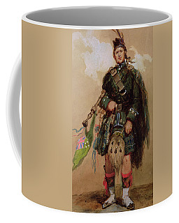 A Piper Of The 79th Highlanders At Chobham Camp Coffee Mug