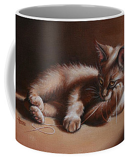 Coffee Mug featuring the painting A Place In The Sun by Cynthia House