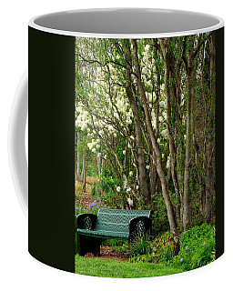 Coffee Mug featuring the photograph A Place To Sit by Rodney Lee Williams