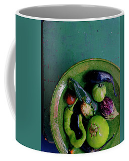 A Plate Of Vegetables Coffee Mug