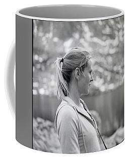 A Portrait Of A Woman Looking Coffee Mug