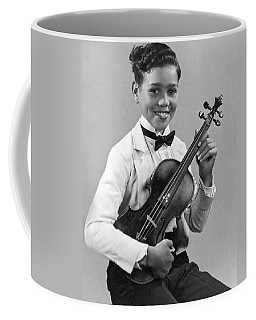 A Proud And Elegant Violinist Coffee Mug