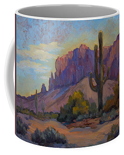 A Proud Saguaro At Superstition Mountain Coffee Mug