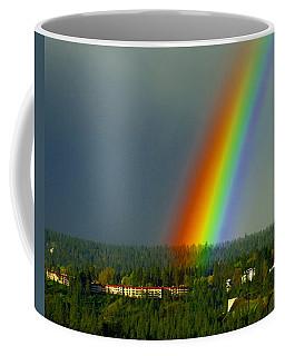 A Rainbow Blessing Spokane Coffee Mug