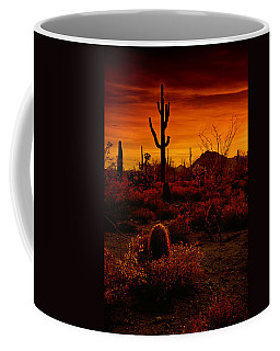 A Red Desert  Coffee Mug