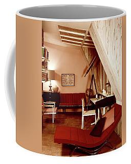 A Red Living Room Coffee Mug