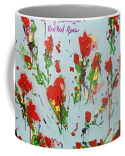 A Red Red Rose Coffee Mug