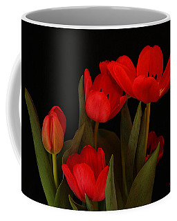A Red Tulip Day Coffee Mug