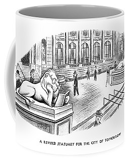 A Revised Statuary For The City Of Tomorrow Coffee Mug