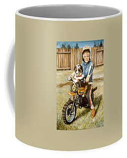 A Ride In The Backyard Coffee Mug