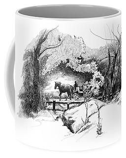 A Ride Through Central Park Coffee Mug
