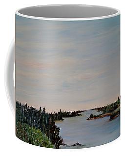 A River Shoreline Coffee Mug