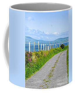 Coffee Mug featuring the photograph A Road To Waterville by Suzanne Oesterling