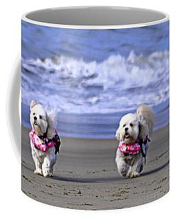 A Romp On The Beach Coffee Mug