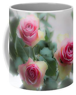 A Rose And A Rose And A Rose Coffee Mug